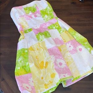 Gorgeous Lilly Pulitzer Strapless Dress